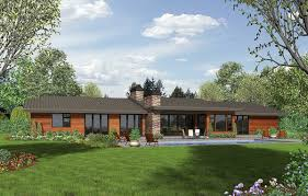 contemporary ranch house plans. Delighful House Plan 69510AM Stunning Contemporary Ranch Home With House Plans C