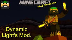 Minecraft 1 12 2 Dynamic Lights Dynamic Lights Mod 1 10 2 1 9 4 1 7 10 Minecraft Mods