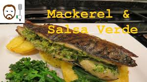 Mackerel & Salsa Verde Recipe - YouTube