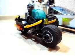 ninjago cole motocycle | Lego Ninjago style MOC. The motorcy…