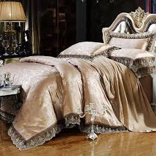 design luxury bedding set bed sheet set tencel modal satin silk jacquard of designer bedding sets