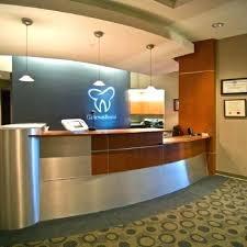 Frontdesk Design Dental Office Front Desk Separator Between
