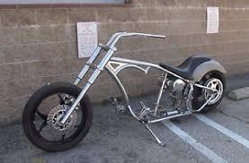 kraft tech 240 tire rolling chassis softail frame bike kit bobber