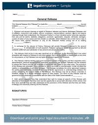 Free Release Of Liability Form Sample Waiver Form Legal Templates Cool Liability Waiver Template Word