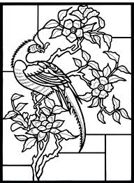 Stained Glass Coloring Pages Free Printable Stained Glass Coloring