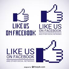 Like Us On Facebook Vector Like Us On Facebook Logos Vector Free Download