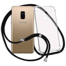 Mtb More Energy Handykette Für Samsung Galaxy A8 2018 Schwarz Smartphone Hülle Zum Umhängen Anti Shock Strong Tpu Case