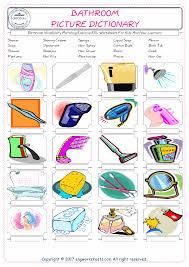 Bathroom - Free ESL, EFL worksheets made by teachers for teachers