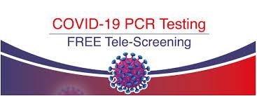 covid 19 pcr testing and free tele