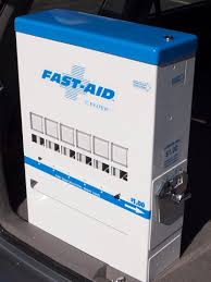 First Aid Vending Machine Extraordinary FastAid First Aid Medical Vending Machine