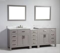 86 inch bathroom vanity