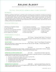 Coordinator Resume Objectives A Good Resume Example
