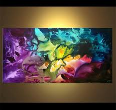 Canvas abstract artwork Vvvart Abstract Painting 4274 Who Will Drive My Soul Osnat Fine Art Painting For Sale Lavender Abstract Canvas Art Colorful 4274