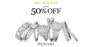 this month benari jewelers helps pers save up to 50 on bridal jewelry for