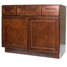 42 Bathroom Vanity 42 Inch Cherry Mahogany Leo Saddle Bathroom Vanity Cabinet