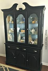 vintage paint and more making a vintage china cabinet modern farmhouse with a