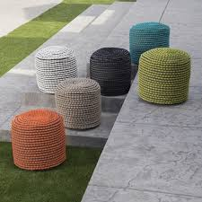 Outdoor Pouf Footstool