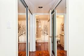 mirrored closets