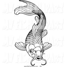 Small Picture Coloring Pages Koi Fish