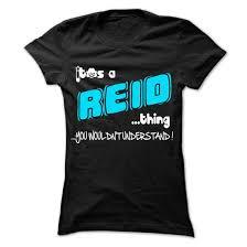 reid name. it is reid thing 999 cool name shirt ! reid 0
