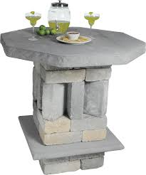 Coffee Table Kits Patio And Pub Table Kit Concrete Patio Pavers Boston Ma