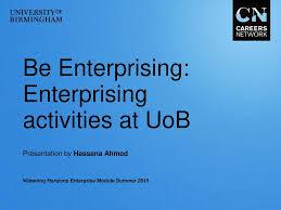 Uob Organisation Chart Be Enterprising Enterprising Activities At Uob Ppt Download