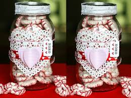 Cute Jar Decorating Ideas DIY Valentines Day Gift Idea Using Pretzels And A Mason Jar 20