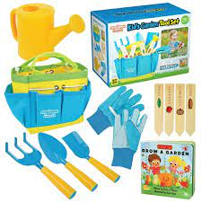 kids garden tools 3 piece set