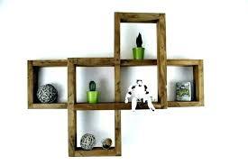 unique ideas square wood shelves shelf storage wooden pallet ikea unit modern decoration geometric floating
