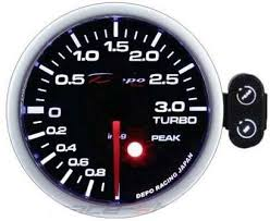 Depo Racing SA - Depo Racing 52mm <b>3 bar boost</b> gauge kits ...