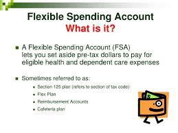 Ppt Flexible Spending Accounts Powerpoint Presentation Id 1657306