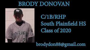 Brody Donovan - C/1B/P - 2020 - YouTube