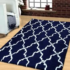 black and blue rug simple luxury superior trellis hand woven navy white area intended for rugs