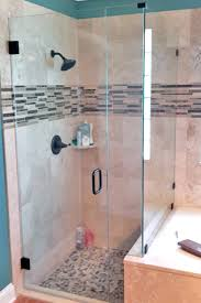 3 8 frameless corner shower enclosure