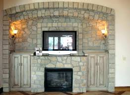 fireplace surround diy electric