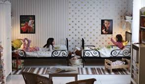 Modern White And Black Ikea Kids Room Design That Can Be Decor ...