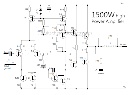 1500 watt high power amplifier amp circuit diagram amplifier 1500 watt high power amplifier amp circuit diagram
