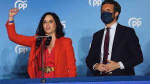 Elecciones en España: Isabel Díaz Ayuso arrasa en la Comunidad de Madrid