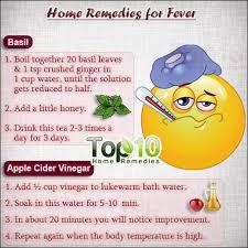 Fever Treatment, causes home