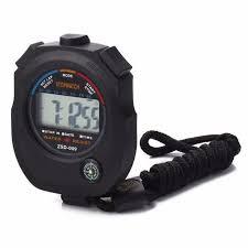 <b>Waterproof Digital LCD</b> Chronograph Timer Counter Sports Alarm ...