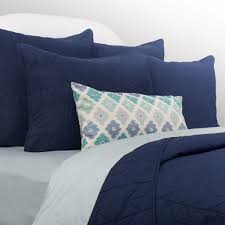 navy and white quilt. Simple White Bedroom Inspiration And Bedding Decor  The Chevron Navy Blue Quilt U0026 Sham  Duvet Cover And White T