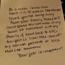 Look Nurse Thanks Airplane Crew For Working On Christmas Nurse