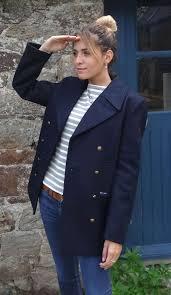 voilure pure wool breton pea coat