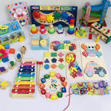 Đồ chơi tư duy phát triển kỹ năng cho bé từ 1-4 tuổi