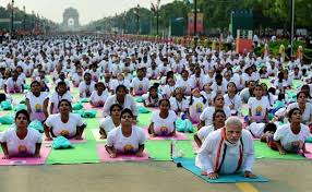 when and where to watch international yoga day event