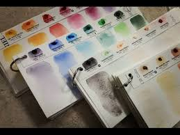 Daniel Smith Watercolor Dot Chart Daniel Smith Dot Color Charts The Easiest Way To Sort And Swatch Your Watercolors