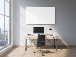 whiteboard for office wall. Download Whiteboard In Office Stock Illustration. Illustration Of Mockup - 73451837 For Wall