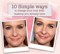 pin 10 simple ways to change your look with makeup you already have