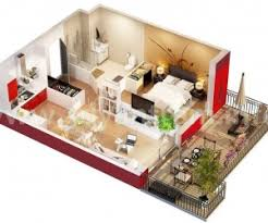 one bedroom apartment design. prepossessing one bedroom apartment plan about modern home interior design ideas with s