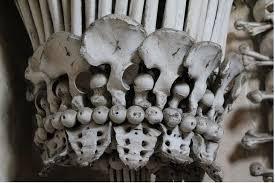 chandelier skull czech cemetery has a chandelier made of human bones curbed ideas 45